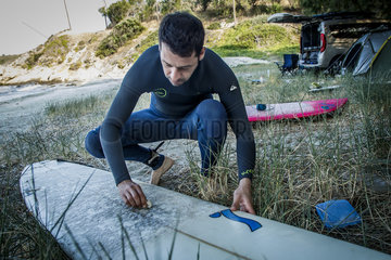 (SP)GREECE-EVIA ISLAND-SURFING