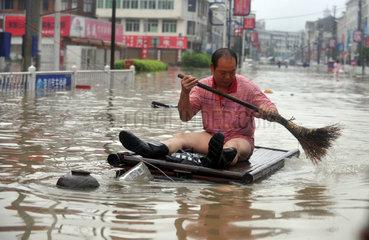China: Taifun Morakot