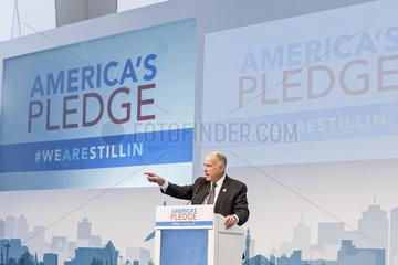 UN-Klimakonferenz Bonn 2017 - Jerry Brown  Gouverneur von Kalifornien