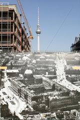 Berlin  Palast der Republik Abriss