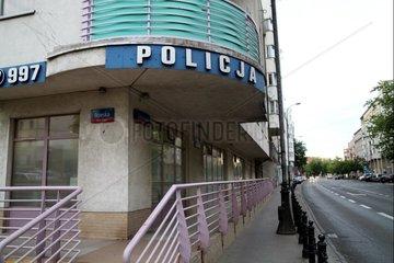 Polizeistation in Polen