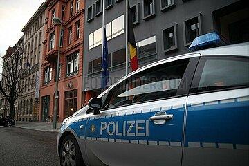 Belgische Botschaft in Berlin am 22.03.2016