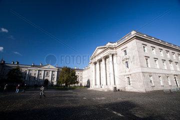 Dublin  Irland  Innenhof des Trinity College