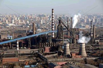 China  Stahlindustrie in Peking