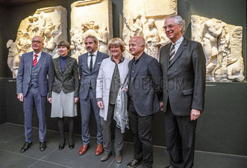 Scholl + Weber + Parzinger + Gruetters + Asisi + Eissenhauer