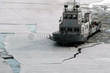 CHINA-HARBIN-SONGHUA RIVER-DRIFT ICE (CN)