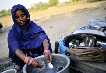 Indien  Hitzewelle