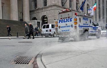 Notfalleinsatz der Polizei in New York