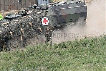 Bundeswehr-Sanitaetspanzer