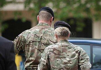 Soldaten der British Army
