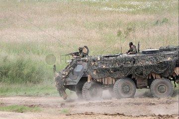 Bundeswehr-Panzer Fuchs