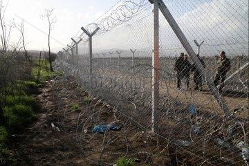 Grenze Mazedonien - Griechenland