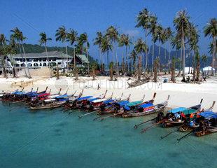 Thailand  Krabi  ein Jahr nach dem Tsunami