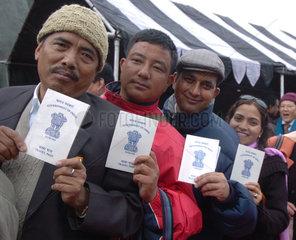 China: Wiedereroeffnung des Nathu La Passes  Grenze zu Indien