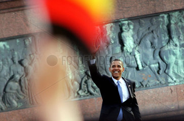 Barack Obama Rede in Berlin