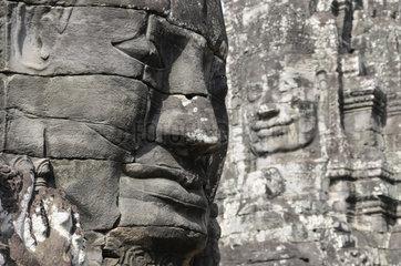 Kambodscha: Angkor  Gesichter des Lokeshvara