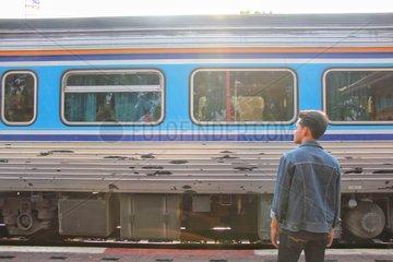 THAILAND-BANGKOK-CHINA-RAILWAY-YOUTH-DREAM