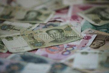 Chinesische Geldscheine