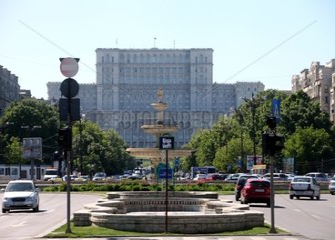 Parlamentspalast in Bukarest