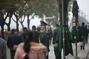 Sicherheitskraefte in China