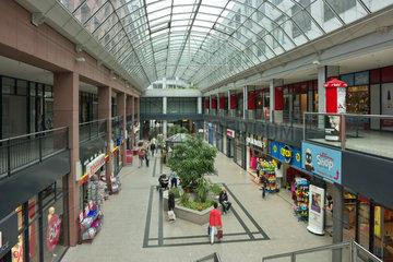 Einkaufspassage 'Oderturm' in Frankfurt (Oder)