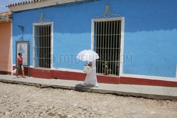Santeria Frau in Trinidad