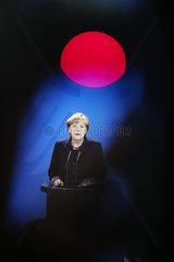 Merkel on truck assault