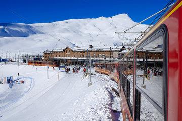 Fahrt zum Jungfraujoch  Top of Europe