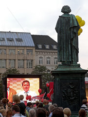 Wahlkampf Gerhard Schroeder
