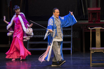 CANADA-MISSISSAUGA-CHINESE THEATER DRAMA-STAGE