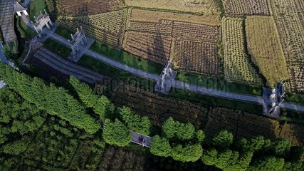 CHINA-ANHUI-VILLAGES-AERIAL VIEW(CN)