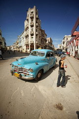 Oldtimer in Havanna