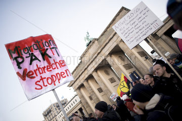 Pegida Demonstration against Migration Pact