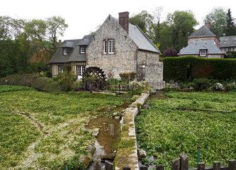 Veules les roses  Normandie