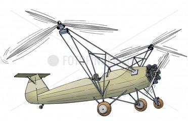 Serie Erfindungen Hubschrauber