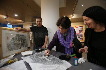 GREECE-ATHENS-EXHIBITION-CHINA-ROCK CARVING