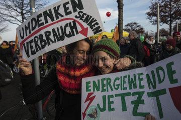Demonstration  Kohle stoppen _ Klimaschutz jetzt