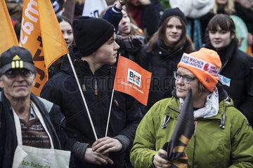 Demonstration  Kohle stoppen ___ Klimaschutz jetzt