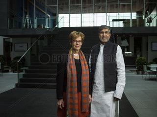 Kailash Satyarthi Cornelia Fuellkrug-Weitzel