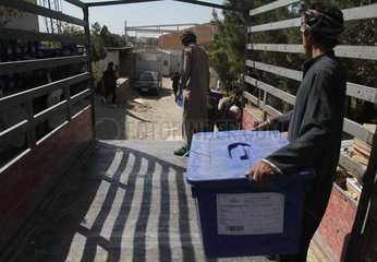 AFGHANISTAN-HERAT-PARLIAMENTARY ELECTIONS
