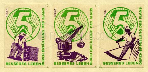 5-Jahres-Plan  DDR  1951