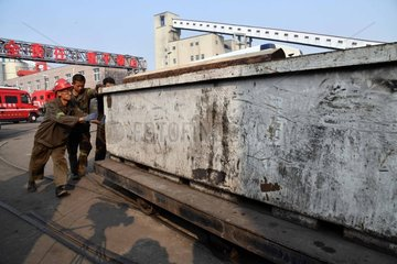 CHINA-SHANDONG-COAL MINE ACCIDENT-RESCUE (CN)