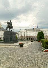 Warschau  Masowien  Polen - Praesidentenpalast