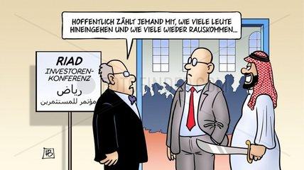 Investorenkonferenz Riad