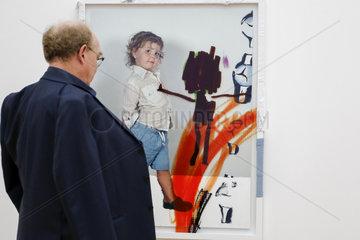 Ausstelklung Amy Blakemore and Edgar Leciejewski. Encounter   Museum der bildenden Kuenste