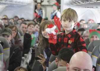 CANADA-VANCOUVER-CHILDREN WITH DISEASE-SANTA CLAUS