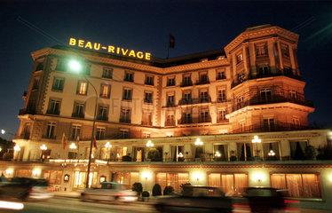 das Hotel Beau Rivage in Genf  Schweiz