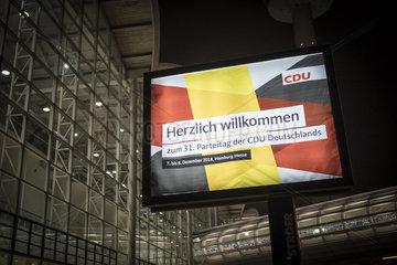 31. CDU-Bundesparteitag in Hamburg