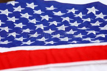Dubai  Vereinigte Arabische Emirate  Nationalfahne der Vereinigten Staaten von Amerika