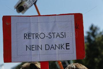 Demo gegen Ueberwachung